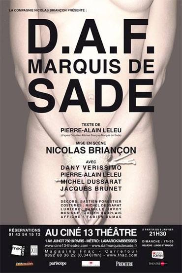 D.A.F Marquis de Sade