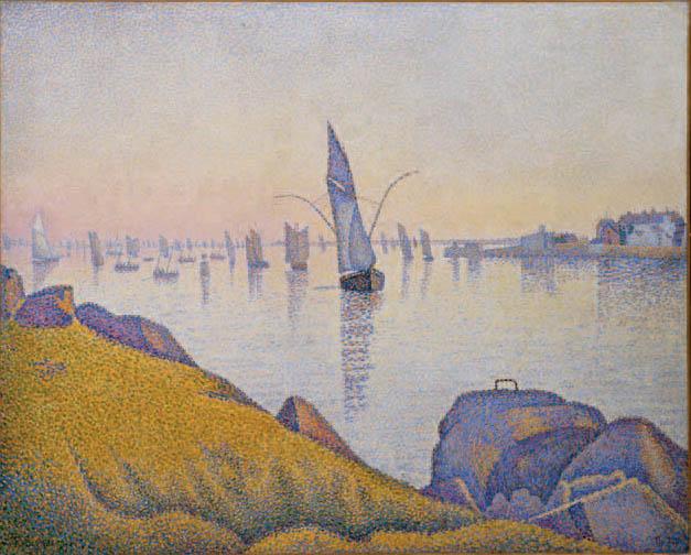 Paul Signac, Concarneau, calme du soir, opus 220 (Allegro Maestoso), 1891