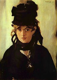 Berthe Morisot par Édouard Manet