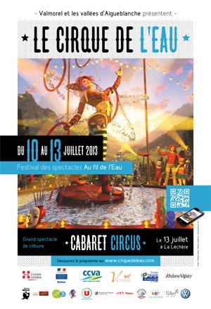 Valmorel Cirque de l'Eau 2013