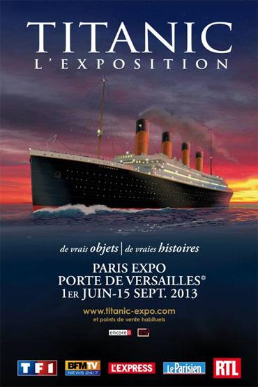 Titanic l'exposition