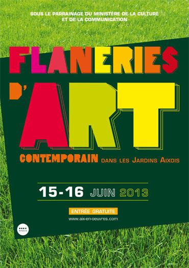 Flanerie d'Art Contemporain dans les Jardins Aixois 2013