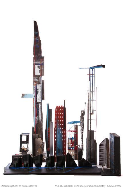 Sculpture - Vue du secteur central