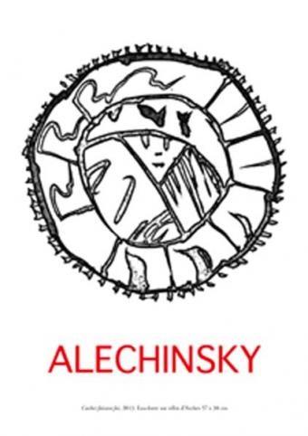 Pierre Alechinsky - eau-forte
