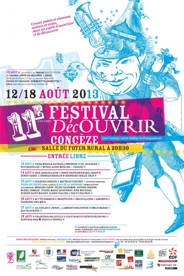 Festival DécOUVRIR de Concèze.
