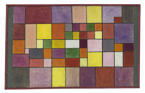 Paul Klee - Harmony of Northern Flora
