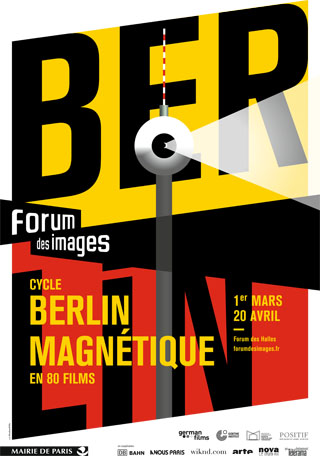Affiche Berlin magnétique