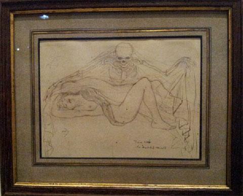 """Armand Rassenfosse, """"La Mort des amants"""", 1899"""
