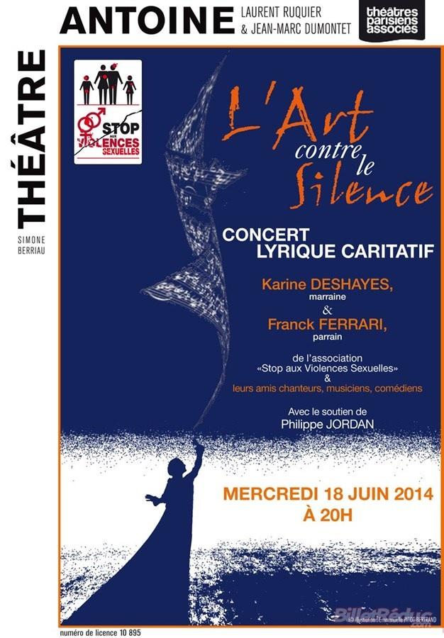 l'art contre le silence