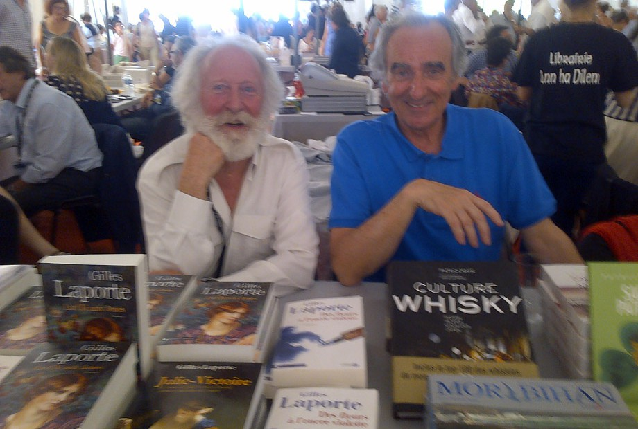 Patrick Mahé et Gilles Laporte