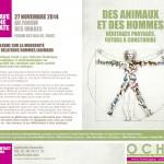 COLLOQUE SUR LA MODERNITE DES RELATIONS   HOMMES:ANIMAUX