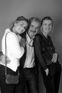 Pascale Quentin, Claude Esclatine et Sylvie Bourgeois