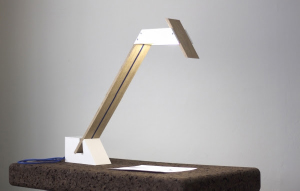 lampe éco-durable « white sleen ».