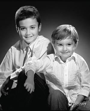Portrait d'enfants par le Studio Harcourt