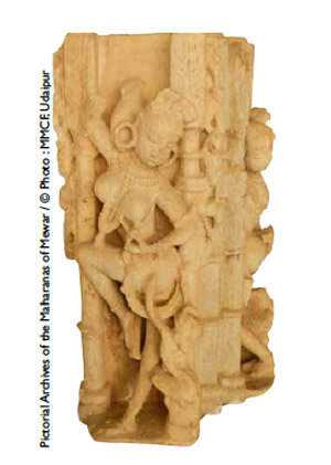 Surasundari(beauté céleste), titllé par un petit animal 1100-1200 après JC.