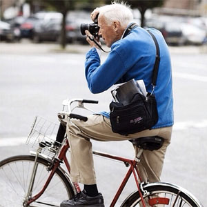 Bill Cunningham Photo: @megandwally via Instagram.