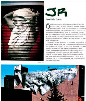 JR - livre planète street art