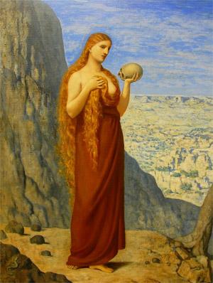 La Marie Madeleine au désert de la Sainte-Baume - Puvis de Chavanne