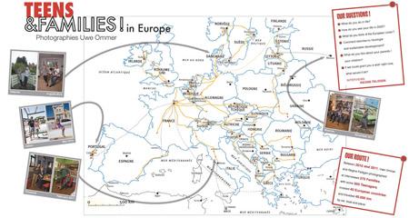 L'itinéraire suivit par Uwe ommer