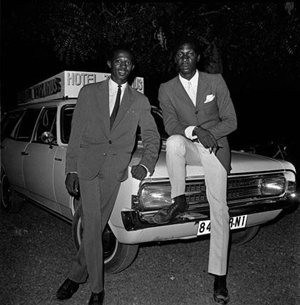 Philippe Koudjina, Les chauffeurs du l'Hôtel Terminus, Niamey, Niger ca. 1965