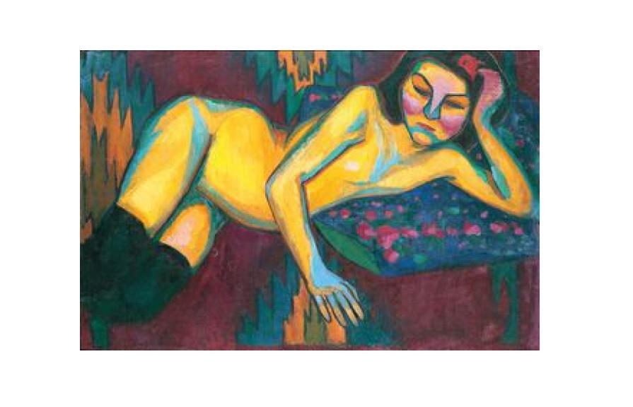 Sonia Delaunay - Nu Jaune