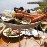 Un plateau de fruits de mer