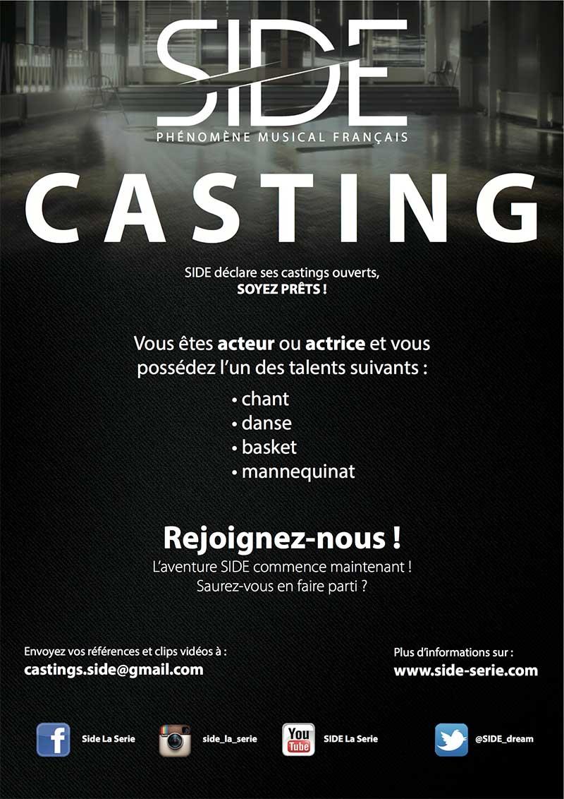 Side - la série - Casting