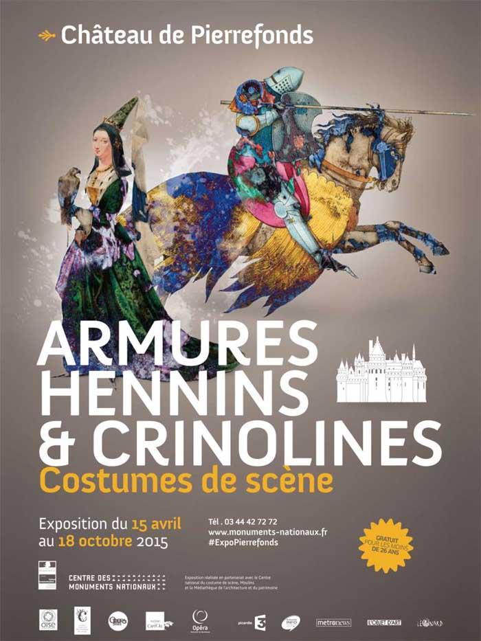 Armures, hennins et crinolines