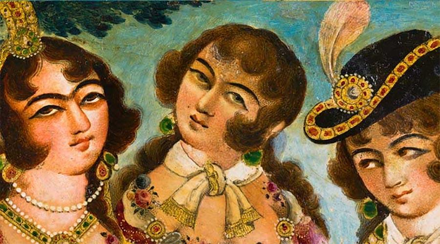 Femmes Qadjar