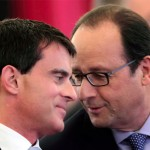 Hollande Valls, photo AFP