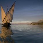 """Barque """"La Savoie"""" sur le lac Léman"""