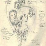 Garouste - carnet de dessins