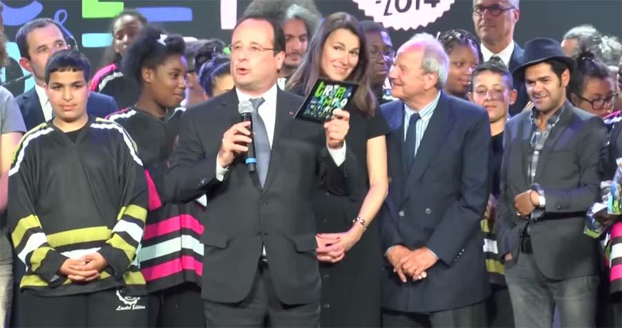 Jamel Debbouze - François Hollande