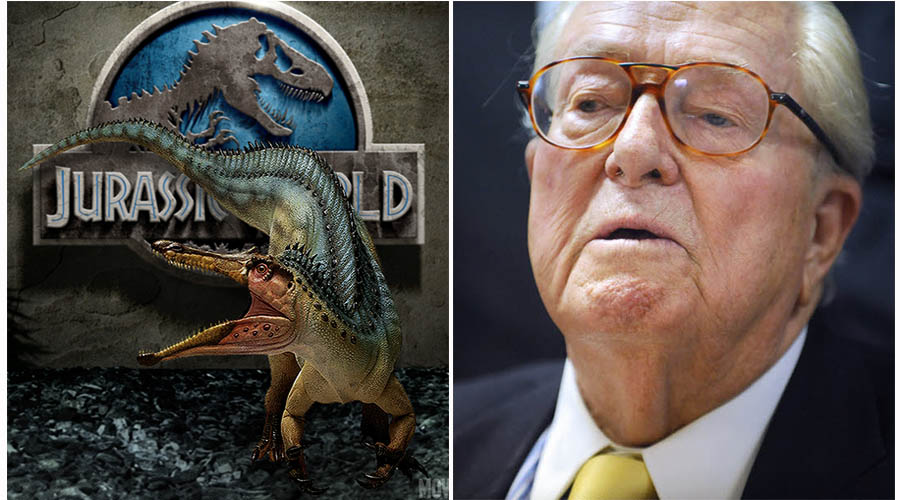 jurassic world, Le pen