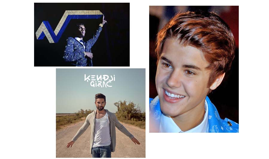 stromae, kenji, Bieber