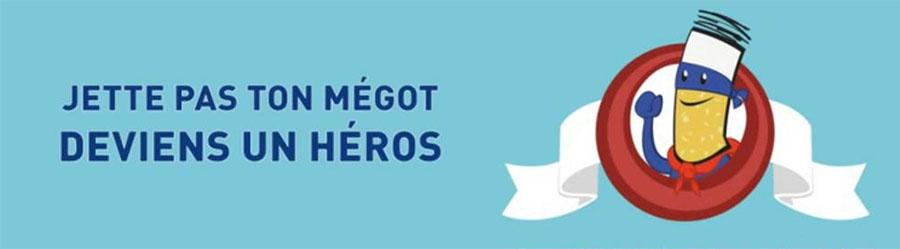 Jette pas ton megot deviens un heros