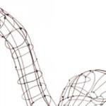 Sculpture de Fil de fer recuit, Marie Christophe