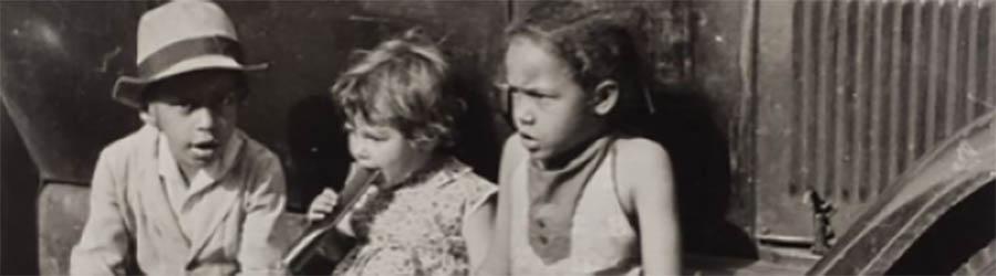 Nathan Lerner, Enfants sur une Ford, 1936