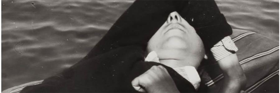 Nathan Lerner, Fille sur un bâteau, 1935