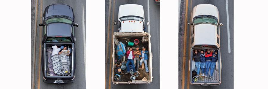 Série Car Poolers - Alejandro Cartagena