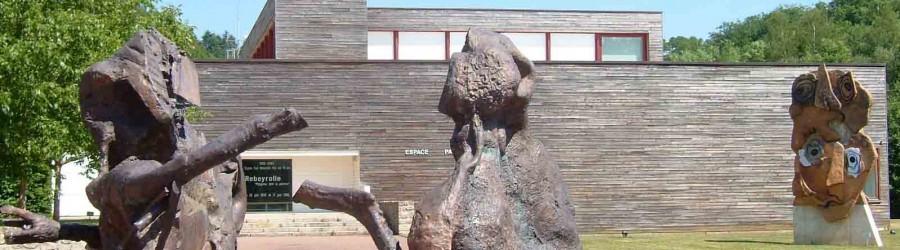 Sculptures à l'Espace Paul Rebeyrolle