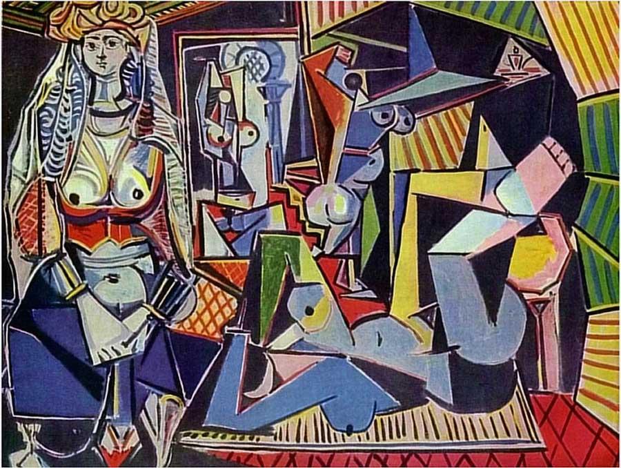 Picasso «Les femmes d'Alger»