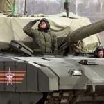 char ArmataT-14, réseau international