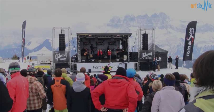 rock the pistes