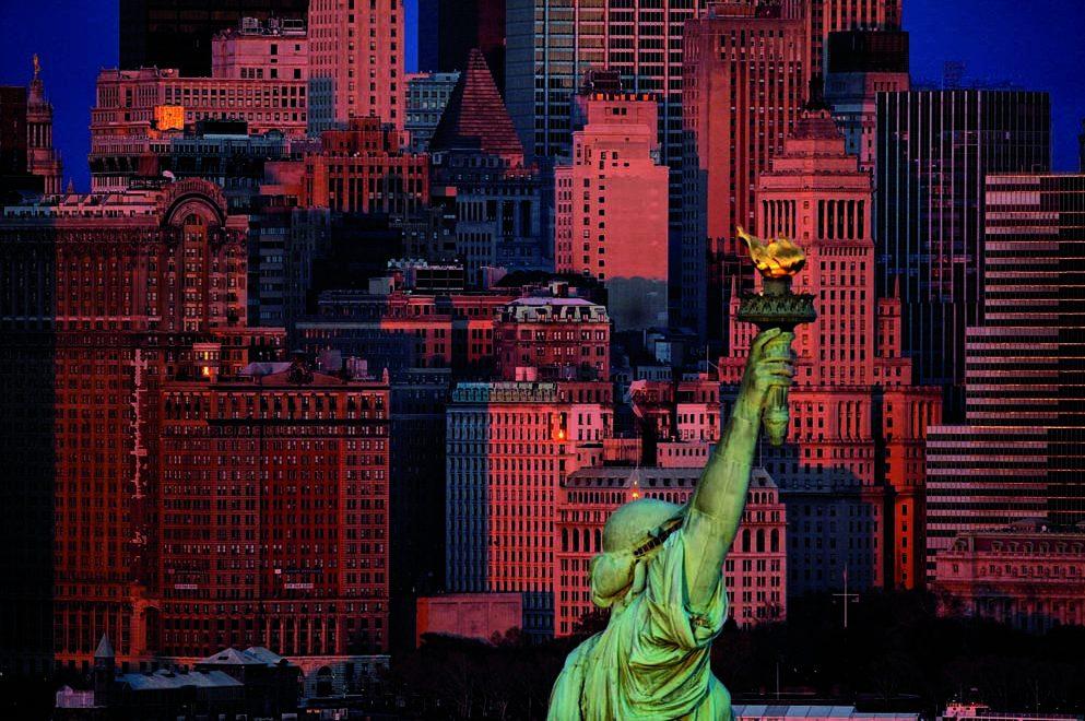 Statue De La Liberte USA