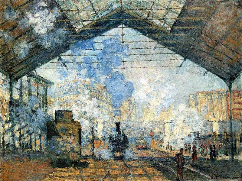 La Gare Saint-Lazare de Claude Monet
