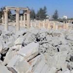 le temple de Baalshamin explose