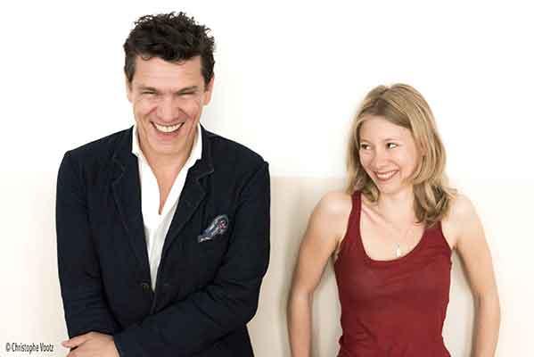 Marc Lavoine et Géraldine Martineau