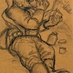 Otto Dix, Soldat