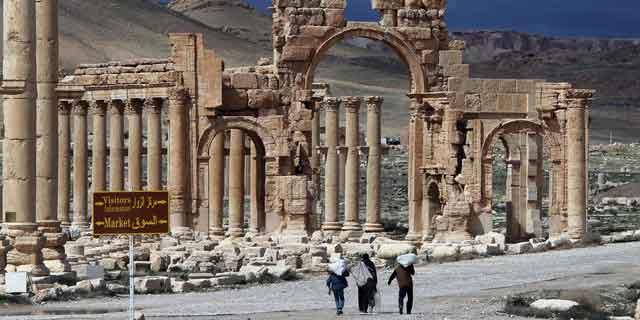 L'Arc de triomphe de Palmyre n'est plus…